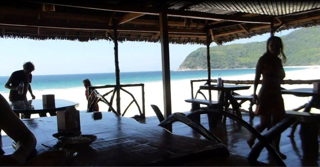 Sin Htauk Beach Restaurant near Dawei Myanmar