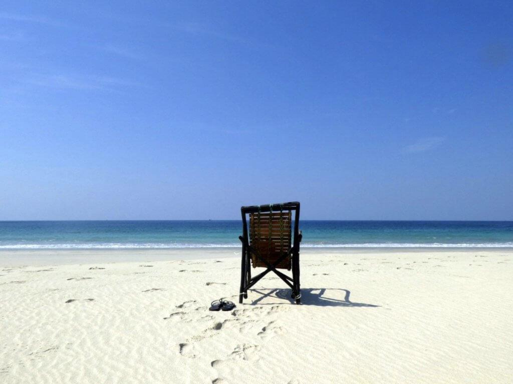 Sin Htauk Beach near Dawei in Southern Myanmar
